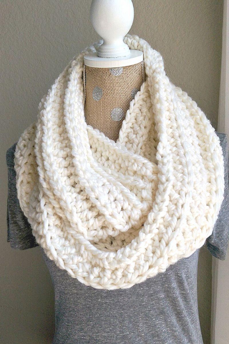 Chunky Crochet Scarf Pattern The Snugglery