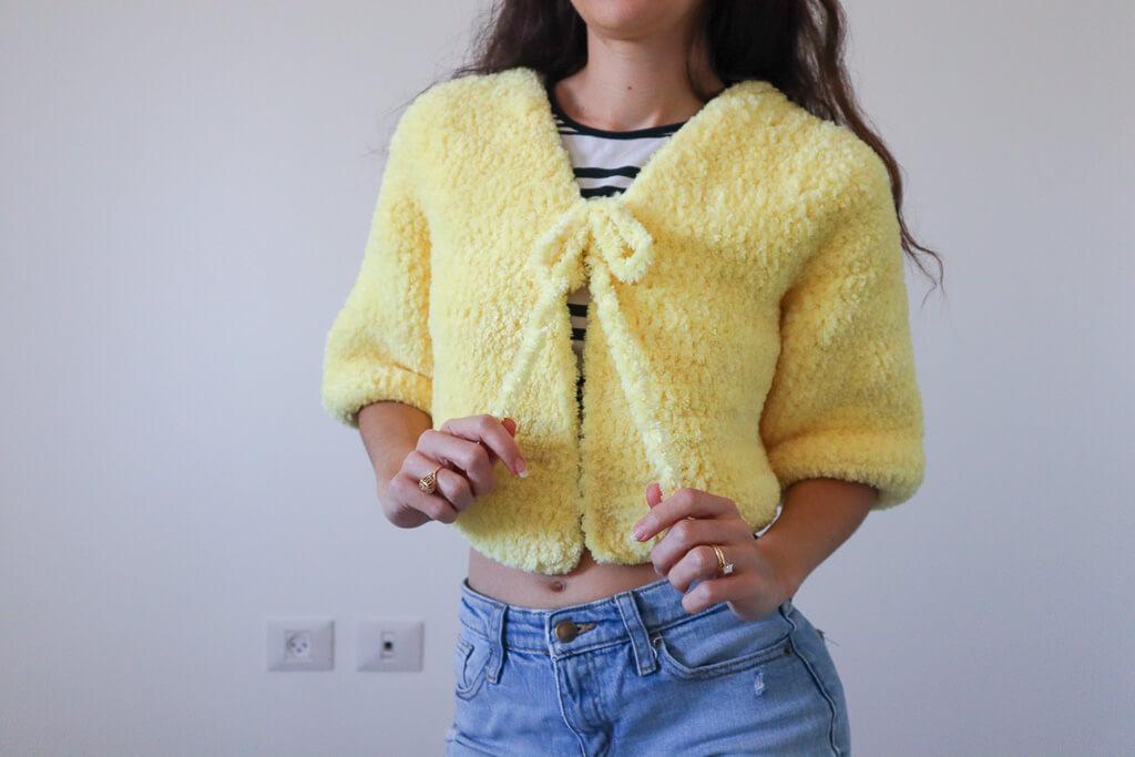 crochet flou cardi