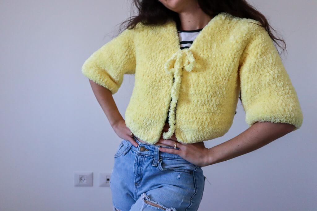 crochet cardi